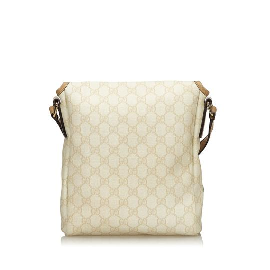 Gucci 9ggucx018 Vintage Leather Cross Body Bag Image 2