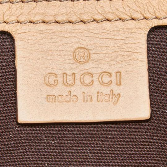 Gucci 9ggucx018 Vintage Leather Cross Body Bag Image 7