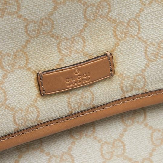 Gucci 9ggucx018 Vintage Leather Cross Body Bag Image 8