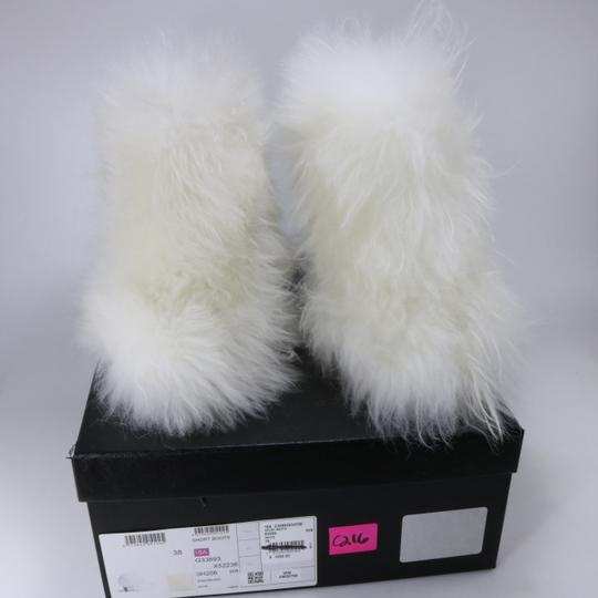 Chanel Runway Fur Fur white Boots Image 1
