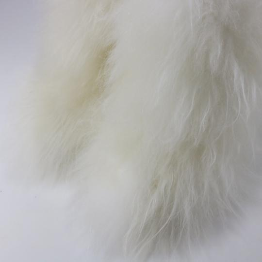 Chanel Runway Fur Fur white Boots Image 6