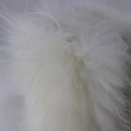 Chanel Runway Fur Fur white Boots Image 7