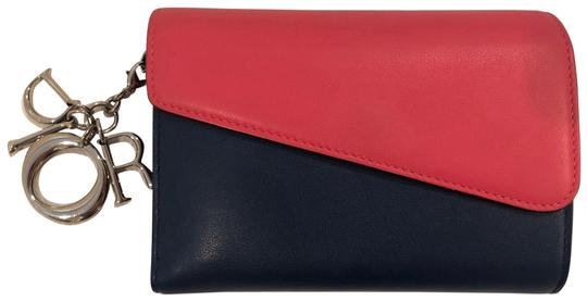 Preload https://img-static.tradesy.com/item/26161722/dior-navy-and-pink-diorissimo-wallet-0-3-540-540.jpg