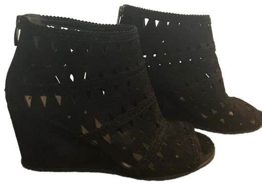 Via Spiga Black Wedges Image 0