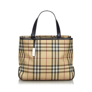 Burberry 9fbuto005 Vintage Leather Tote in Brown