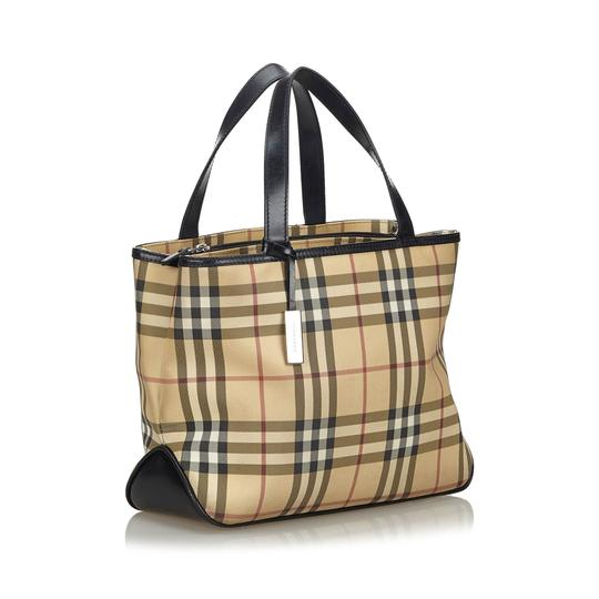 Burberry 9fbuto005 Vintage Leather Tote in Brown Image 1