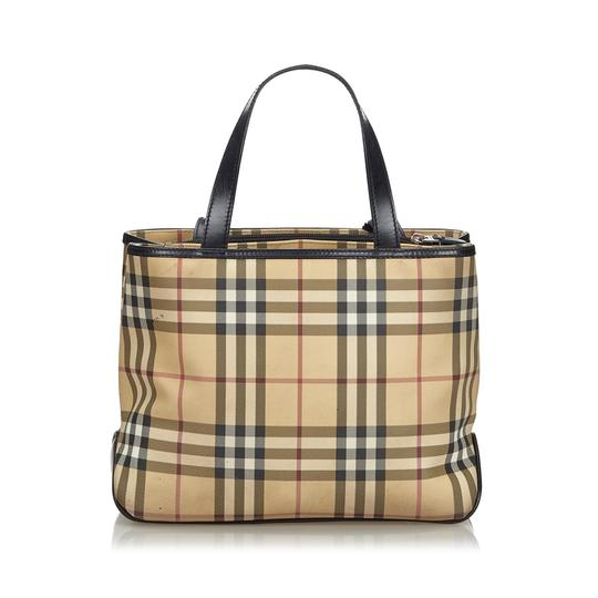 Burberry 9fbuto005 Vintage Leather Tote in Brown Image 11