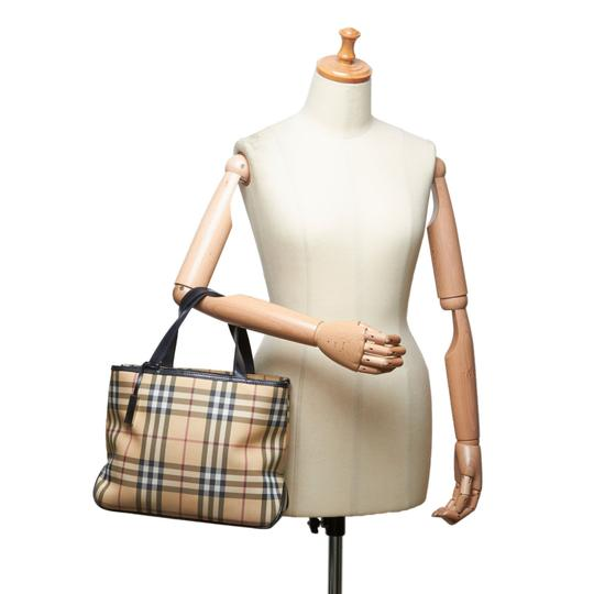Burberry 9fbuto005 Vintage Leather Tote in Brown Image 7