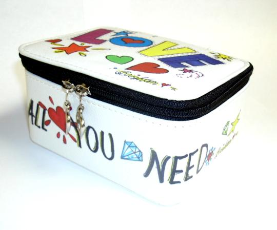 Brighton Graffiti Jewelry Box All You Need is Love Image 2