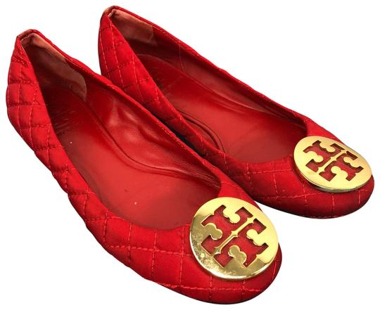Tory Burch Red Flats Image 0