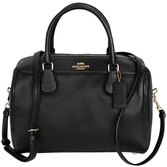 Preload https://img-static.tradesy.com/item/26161892/coach-bennett-black-leather-satchel-0-1-540-540.jpg