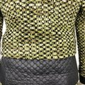 Carlisle Green Black Collarless Tweed Quilted Contrast Accents Snap Button Skirt Suit Size 2 (XS) Carlisle Green Black Collarless Tweed Quilted Contrast Accents Snap Button Skirt Suit Size 2 (XS) Image 11