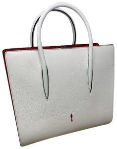 Christian Louboutin Satchel in White