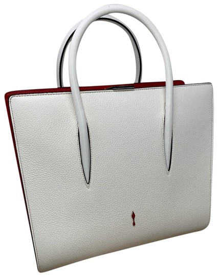 Preload https://img-static.tradesy.com/item/26161922/christian-louboutin-paloma-medium-white-leather-satchel-0-1-540-540.jpg