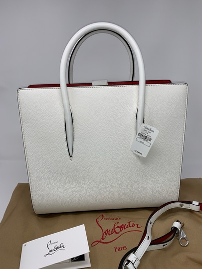 Christian Louboutin Satchel in White Image 1