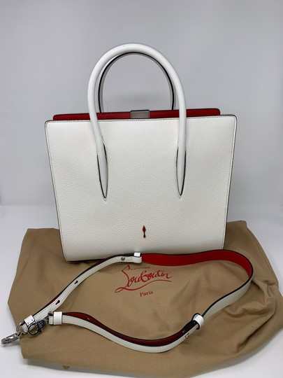Christian Louboutin Satchel in White Image 4