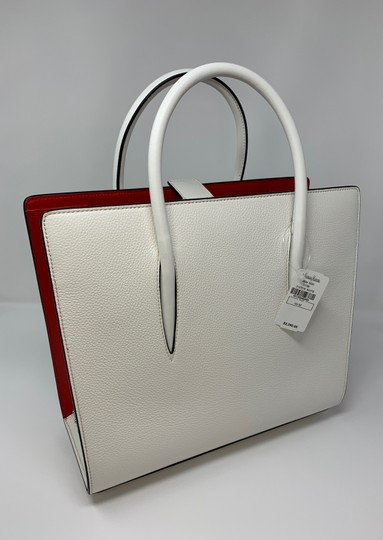 Christian Louboutin Satchel in White Image 6