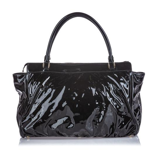 Gucci 9cguhb098 Vintage Patent Leather Shoulder Bag Image 11