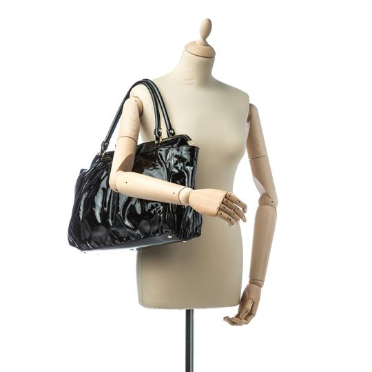 Gucci 9cguhb098 Vintage Patent Leather Shoulder Bag Image 7