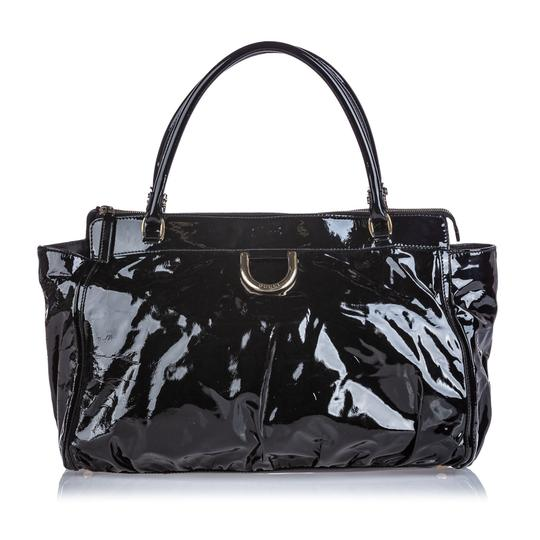 Gucci 9cguhb098 Vintage Patent Leather Shoulder Bag Image 9