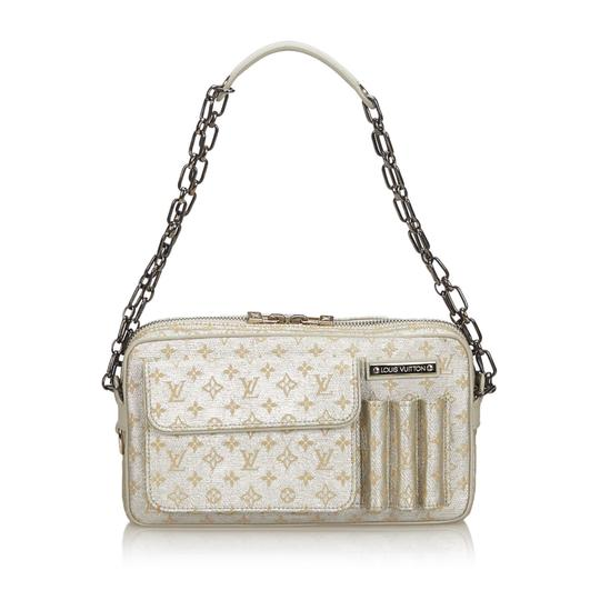 Preload https://img-static.tradesy.com/item/26161939/louis-vuitton-canvas-fabric-monogram-shine-mckenna-france-silver-leather-baguette-0-0-540-540.jpg