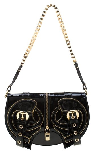 Preload https://img-static.tradesy.com/item/26161944/alexander-mcqueen-twin-belted-chain-black-patent-leather-shoulder-bag-0-1-540-540.jpg