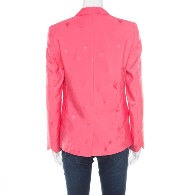 Zadig & Voltaire Jacquard Pink Womens Jean Jacket Image 1