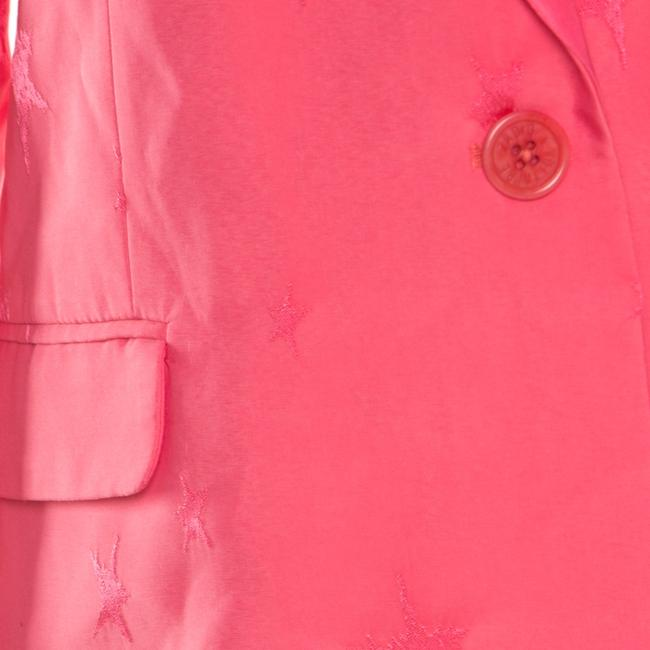 Zadig & Voltaire Jacquard Pink Womens Jean Jacket Image 3