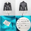 Other Made In Usa Leather Jacket 3/4 Sleeves Brown Blazer Image 10