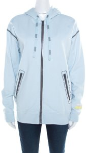 Marc by Marc Jacobs Contrast Detail Hooded Womens Jean Jacket