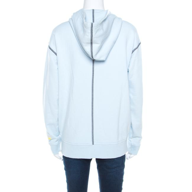 Marc by Marc Jacobs Contrast Detail Hooded Womens Jean Jacket Image 1