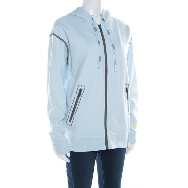 Marc by Marc Jacobs Contrast Detail Hooded Womens Jean Jacket Image 2