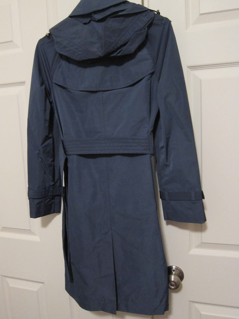 Burberry Rain Hooded Amberford Trench Coat Image 1