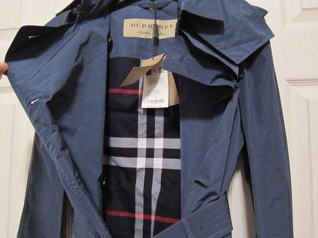 Burberry Rain Hooded Amberford Trench Coat Image 2