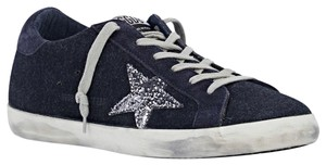 Golden Goose Deluxe Brand Navy Athletic