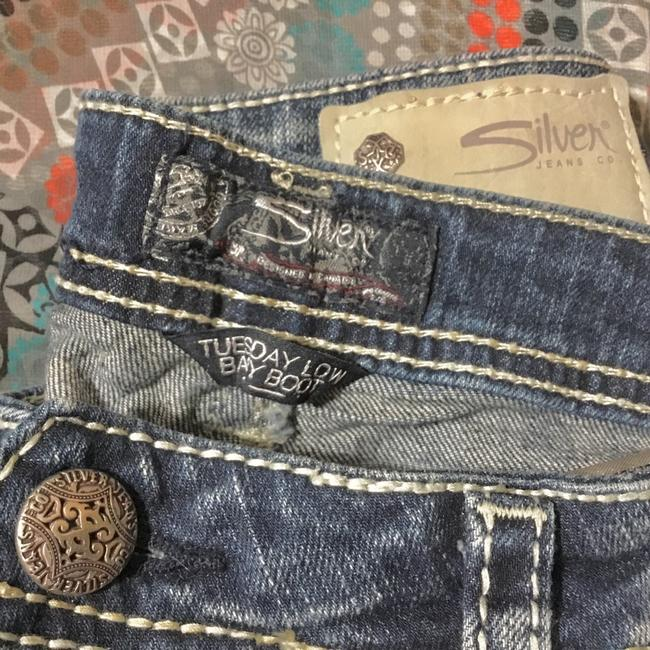 Silver Jeans Co. Boot Cut Jeans-Distressed Image 2