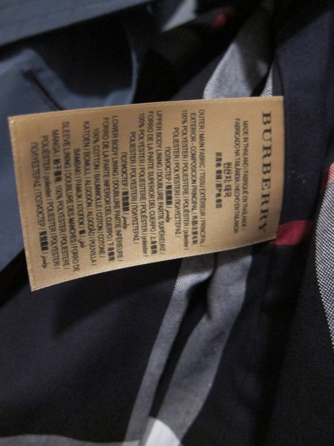 Burberry Rain Hooded Amberford Trench Coat Image 3