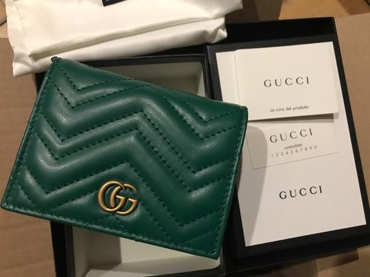 Gucci GG Marmont small quilted leather wallet Image 5