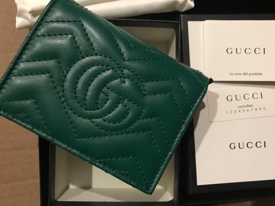 Gucci GG Marmont small quilted leather wallet Image 6