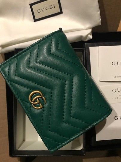 Gucci GG Marmont small quilted leather wallet Image 7