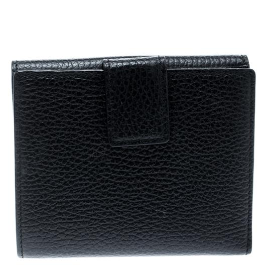 Gucci Black Leather Double G Wallet Image 1