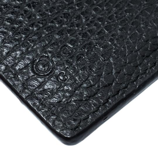 Gucci Black Leather Double G Wallet Image 7