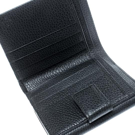 Gucci Black Leather Double G Wallet Image 8