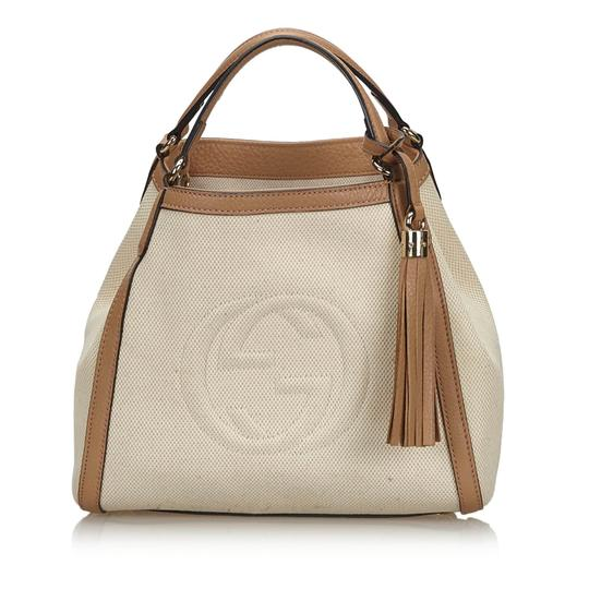Preload https://img-static.tradesy.com/item/26162053/gucci-soho-ivory-with-brown-light-canvas-fabric-italy-white-leather-shoulder-bag-0-0-540-540.jpg