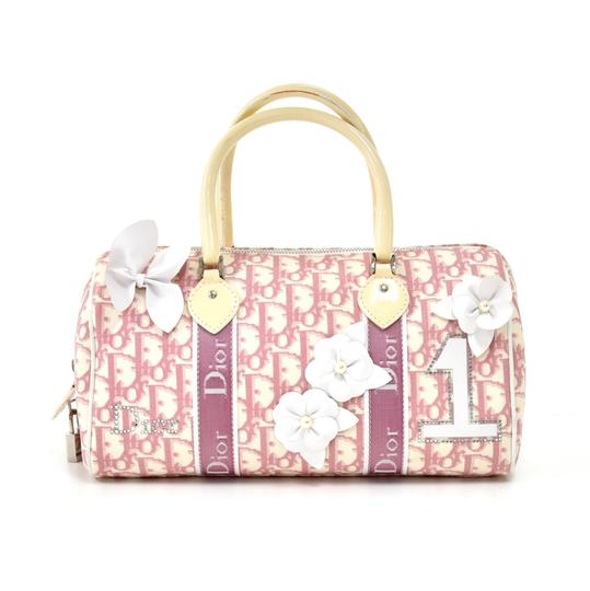 Preload https://img-static.tradesy.com/item/26162066/dior-boston-and-girly-oblique-trotter-pink-white-canvas-weekendtravel-bag-0-0-540-540.jpg