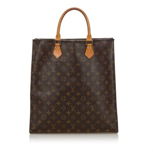 Louis Vuitton 9glvto011 Vintage Leather Tote in Brown
