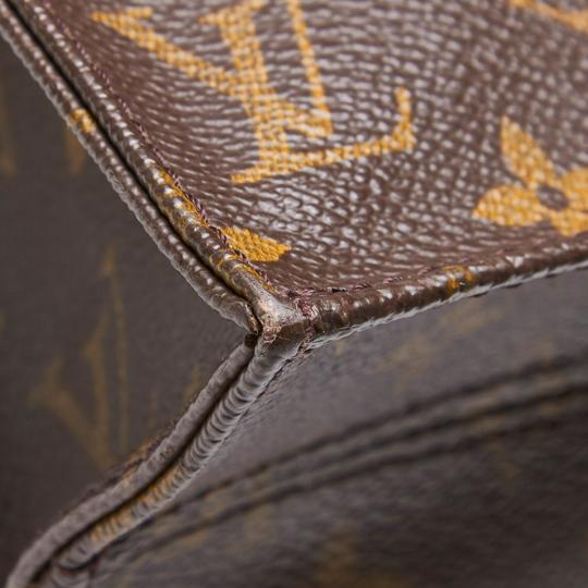 Louis Vuitton 9glvto011 Vintage Leather Tote in Brown Image 10