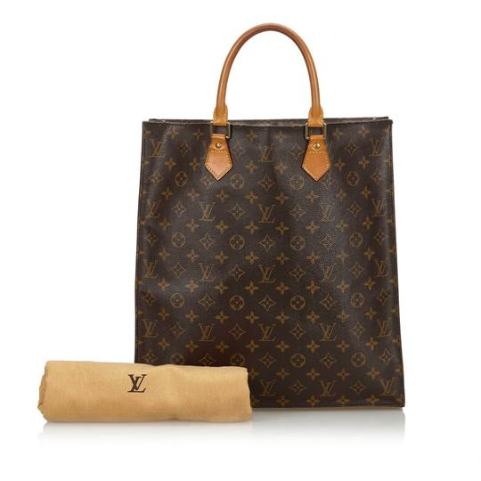 Louis Vuitton 9glvto011 Vintage Leather Tote in Brown Image 11
