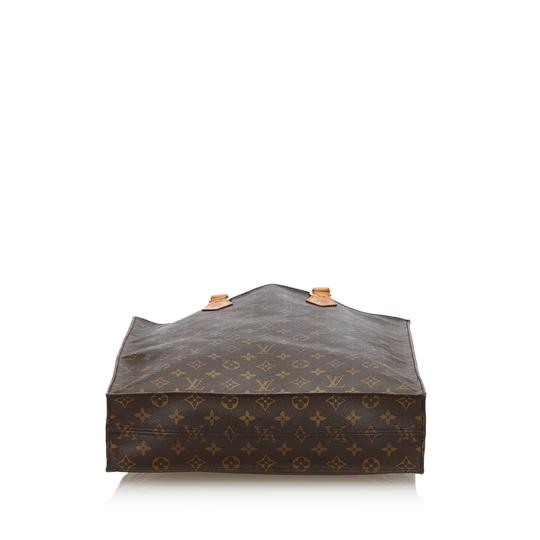 Louis Vuitton 9glvto011 Vintage Leather Tote in Brown Image 2