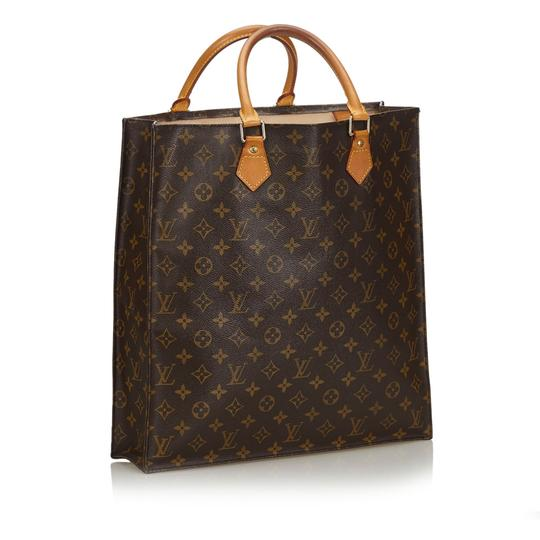 Louis Vuitton 9glvto011 Vintage Leather Tote in Brown Image 3